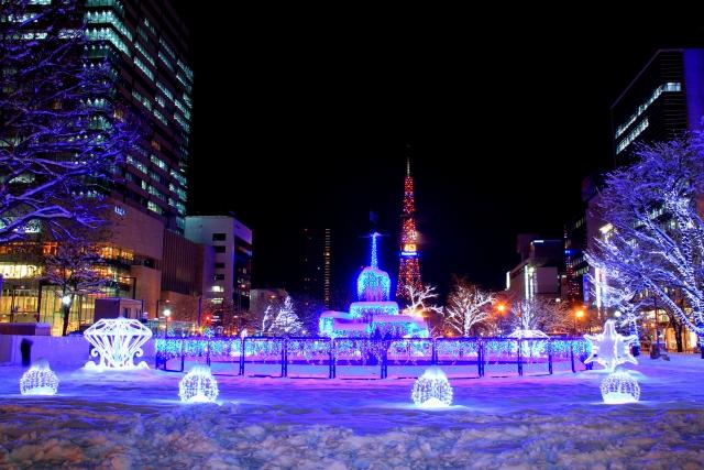 札幌ホワイトイルミネーション2019-2020の点灯時間や見どころは?