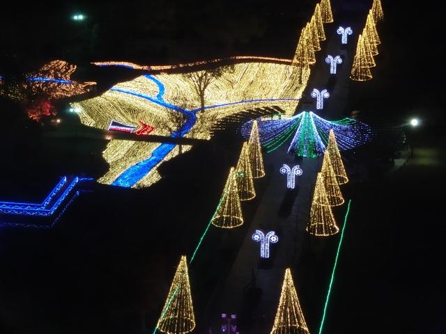 木曽三川公園イルミネーション2019!点灯時間や混雑状況は?