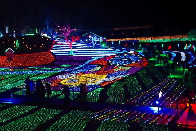 東京ドイツ村イルミネーション2019-2020!開催期間や点灯時間は?