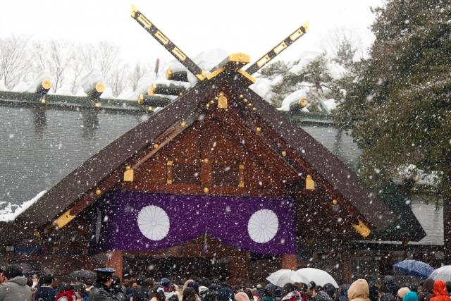 北海道神宮の初詣2020!参拝時間や混雑情報は?