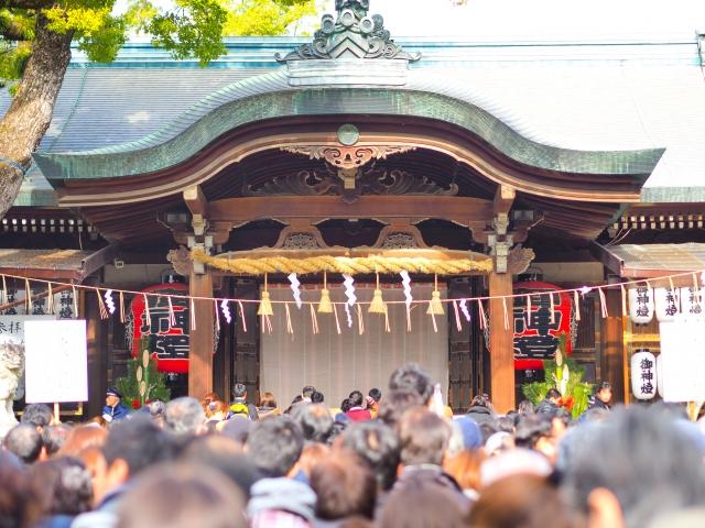 生田神社の初詣!2020年の混雑状況や待ち時間は?
