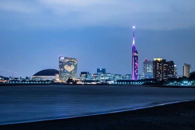 福岡タワークリスマスイルミネーション2019!開催期間や点灯時間は?