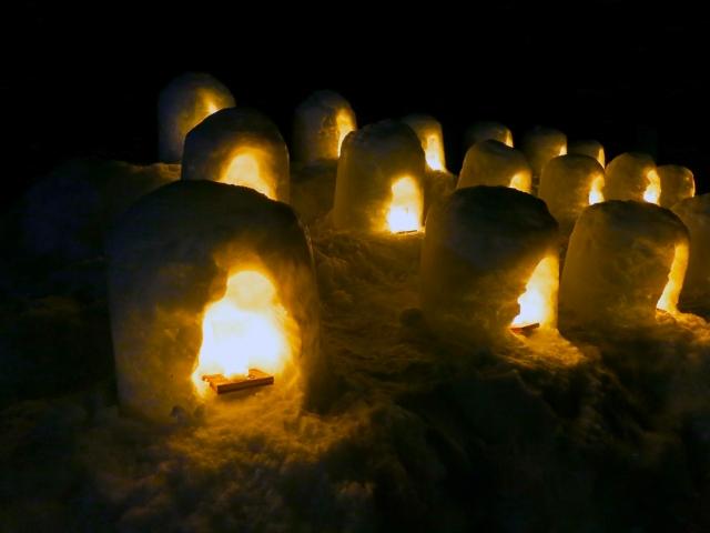 湯西川温泉かまくら祭2020!日程や見どころは?ライトアップは見ごたえ抜群