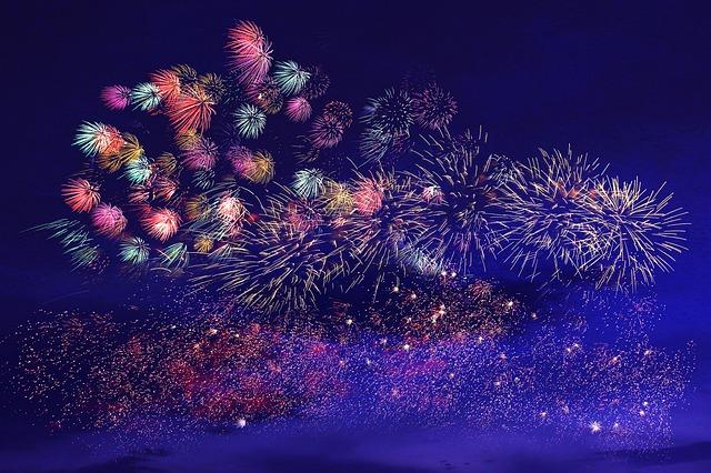 泉州光と音の夢花火